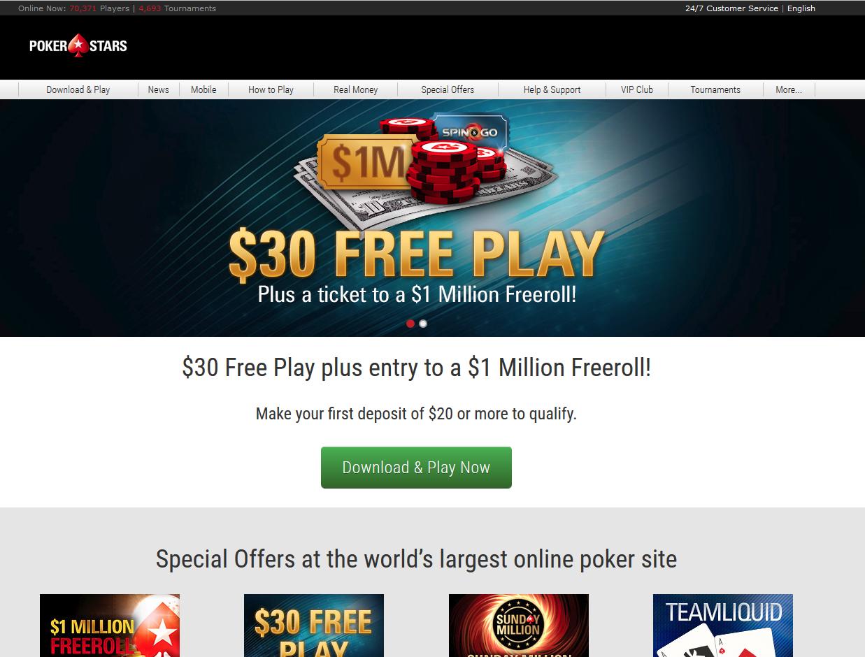 Покер старс ставки на спорт официальный сайт